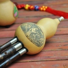 Performance Niveau Chinesischen Kürbisflasche Bambus Flöte Bild 1