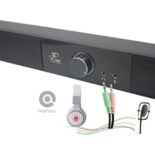 LONPOO 10 W Mini USB Soundbar Lautsprecher Bild 1