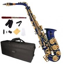 Mendini MAS BL E Flat Lackiert Alt Saxophon Bild 1