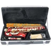 Steinbach Eb Alt Saxophon in Rot mit hohem FIS Bild 1