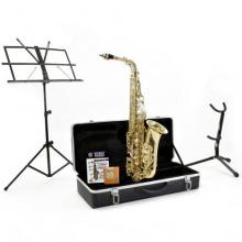 Altsaxophon Komplettausstattung in hellgold Bild 1