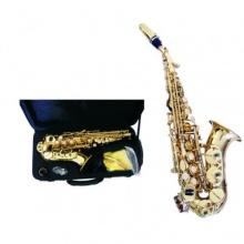 B Sopransaxophon gebogene Ausführung im Koffer Bild 1