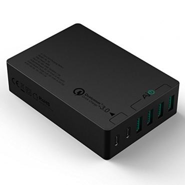 AUKEY Quick Charge 3-0 6 Port Type C USB Ladegerät Bild 1