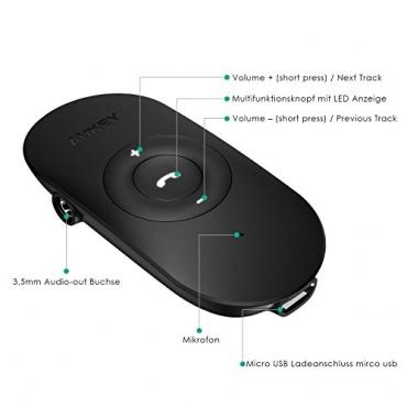 AUKEY BR-C9 Bluetooth Stereo Audio Receiver Bild 1