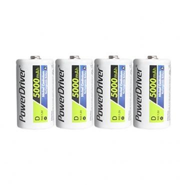 PowerDriver Typ D Ni-CD Rechargeable Batterien Bild 1