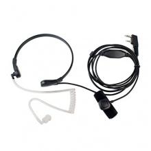 Retevis Funkgeräte Headset mit Kehlkopfmikrofon PTT Bild 1