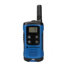 Motorola TLKR T41 PMR Funkgerät mit LC-Display blau Bild 1