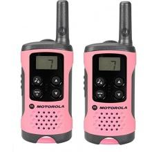 Motorola TLKR T41 PMR Funkgerät mit LC-Display pink Bild 1