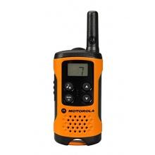 Motorola TLKR T41 PMR Funkgerät mit LC-Display orange Bild 1