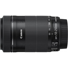 Canon EF-S 55-250mm 1 4 5 6 IS STM Tele-Zoomobjektiv Bild 1