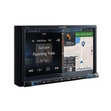 Alpine X801D U Audio Receiver Bild 1