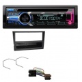 JVC CD MP3 USB Bluetooth AUX Audio Receiver Bild 1
