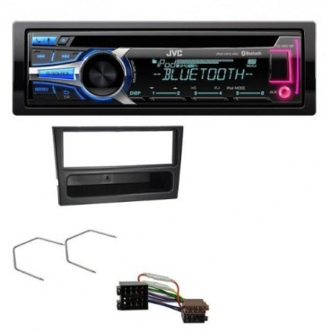 JVC CD MP3 USB Bluetooth AUX Audio Receiver Bild 1