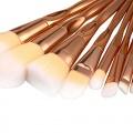 Kabuki Kosmetik Pinsel Rose Gold Spezielle Design Bild 1
