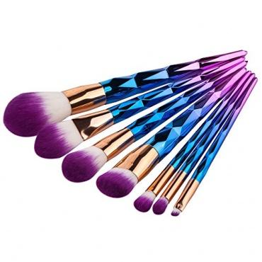 6 tlg Makeup Bürsten Kosmetikpinsel Bild 1