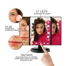 Leeron 21-LED beleuchteter Schminkspiegel Bild 1