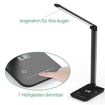 LE LED modern 8W Schreibtischlampe Bild 1