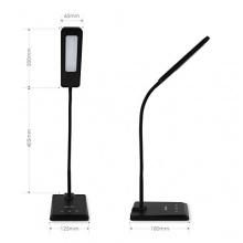 Albrillo 6W LED Schreibtischlampe Bild 1