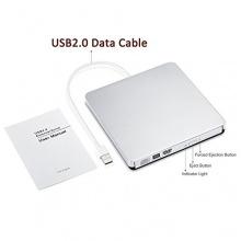 USB 2.0 Slim DVD Laufwerk für Macbook Pro Air Bild 1