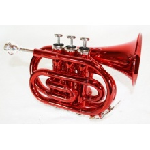 Cherrystone Pocket Trompete rot Bild 1
