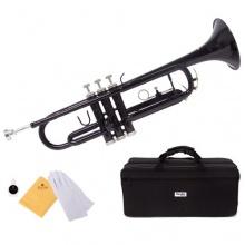 Mendini MTT BK B Flat Trompete  Bild 1