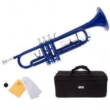Mendini MTT BL B Flat Trompete Bild 1