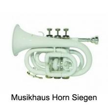Taschen Trompete Pocket Trumpet TP 300 Bb weiß Bild 1