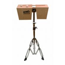 Goldon - Holz-Bongo 17 x 21 cm - ohne Ständer, Percussion Bild 1
