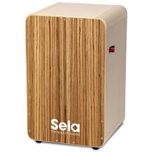Sela Casela Pro Zebrano SE 012 - mit Sela Snare On/Off-Mechanik, Cajon, Percussion Bild 1