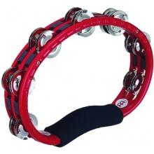 Meinl Percussion TMT1R Tambourine mit Stahlschellen 2-reihig Handmodell rot Bild 1