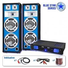 Blue Star Series PA Komplett-Set1600W Endstufe Bild 1