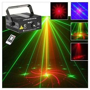 mini rg laser projektor 3 f r dj disco beleuchtung test. Black Bedroom Furniture Sets. Home Design Ideas