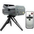 RPGT Mini Disco Laser Lichteffekt Musik-Control mit Fernbedienungfür Bild 1