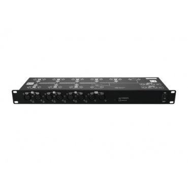 EUROLITE DMX Split 8X Splitter zur Rackmontage, Lichtmixer Bild 1