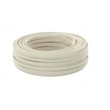 15 m Ring Lautsprecherkabel weiß 2x2,5 mm² OFC Kupfer Bild 1