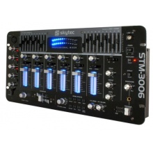 Skytec 4+1 Kanal stereo DJ Mischpult STM-3006 Bild 1