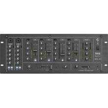 IMG Monacor MPX-44/SW 6-Kanal-Stereo-DJ-Mischpult Bild 1