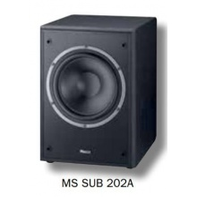 Magnat 1448260 Monitor Supreme Sub 202 A aktiver Frontfire Bassreflex Subwoofer Bild 1