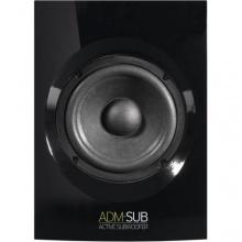 Reloop ADM-SUB Aktiv Subwoofer Studio-Monitor Schwarz Bild 1