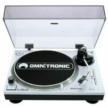 OMNITRONIC BD-1550 Plattenspieler silber Bild 1