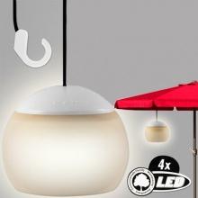 Artis Batteriebetriebene hängende LED-Laterne für Sonnenschirm Bild 1
