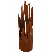 Rost Windlicht Treibholz 45 cm Bild 1