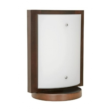 quadro wenge i modern design tischlampe tischleuchte test. Black Bedroom Furniture Sets. Home Design Ideas