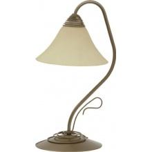VICTORIA gold I Klassisches Design Tischlampe Tischleuchte Bild 1