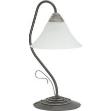 VICTORIA silver I Klassisches Design Tischlampe Tischleuchte Bild 1