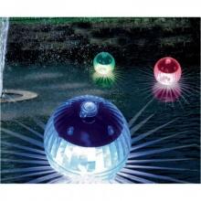 Solar Led Gartenbeleuchtung, Teichbeleuchtung Wasserspiele Bild 1