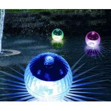 LED Solar Schwimmkugeln 4er Set mit Farbwechsel Bild 1
