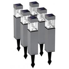 Duracell Solar LED Außenleuchte aus Glas hellweiß GL004NT6DU Bild 1