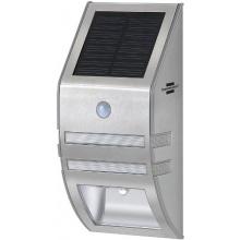 Brennenstuhl Solar LED Wandleuchte SOL WL-02007 mit Bewegungsmelder, edelstahl 1170780 Bild 1