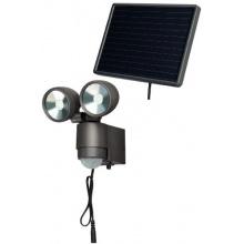 Brennenstuhl Solar LED Spot SOL 2x4 IP44 anthrazit 1170930 Bild 1
